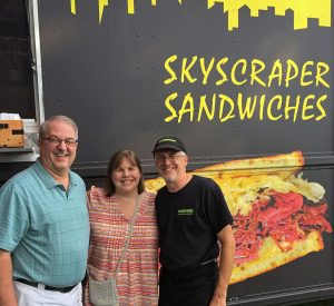 Jay and Friends at Skyscraper Sandwiches Food Truck