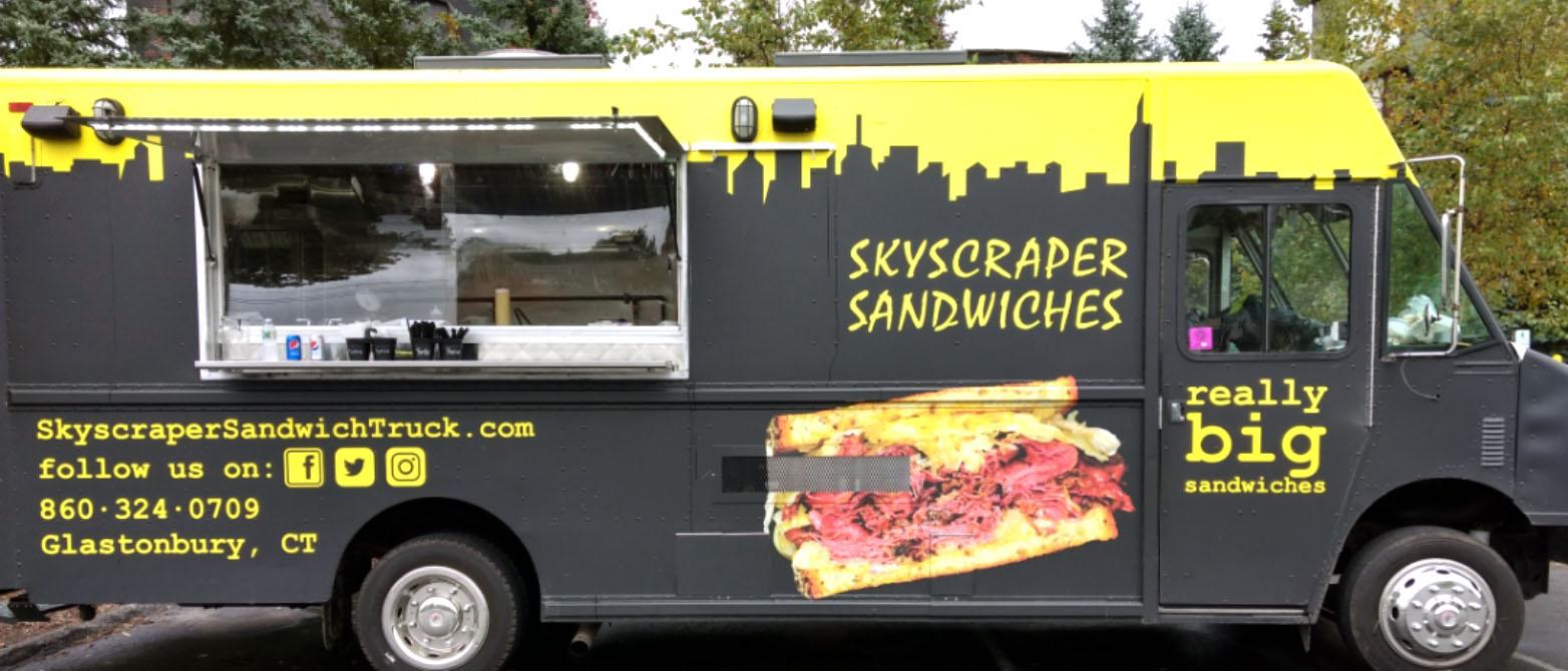 Skyscraper Sandwiches Events Calendar
