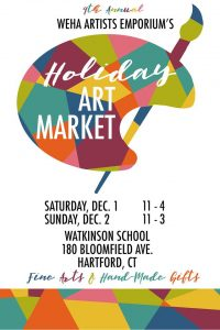 WEHA Artists Emporium's Holiday Art Market